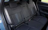 15 Hydundai Tucson PHEV 2021 UK FD rear seats