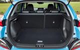 15 Hyundai Kona Electric 2021 UK first drive review boot