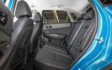 Hyundai Kona Hybrid 2019 first drive review - rear seats