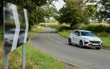 15 Hyundai Kona N 2021 UK LHD FD cornering
