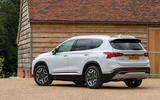 15 Hyundai Santa Fe PHEV 2021 UK FD static rear