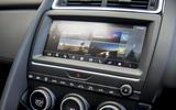 Jaguar E-Pace D150 2018 review infotainment