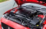 Jaguar XE 300 Sport 2018 UK first drive review engine