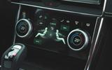 Jaguar XE P300 2019 first drive review - climate controls