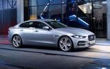 Jaguar XE - side