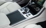 15 Jaguar XF Sportbrake 2021 UK first drive review centre console
