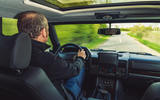 15 JIA Range Rover Chieftain 2021 UK FD JD driving