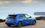Kia Ceed 2018 first drive review static rear