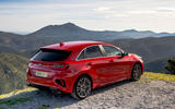 Kia Ceed GT 2019 first drive review - static rear