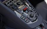 Lamborghini Aventador S 2018 first drive review centre console