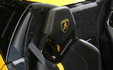 Lamborghini Huracan Performante Spyder 2018 UK review headrests