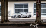 Lamborghini Huracan STO 2020 first drive review - static front