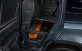 15 Land Rover Defender Hard Top Commercial 110 UK FD rear doors under floor