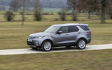 15 Land Rover Discovery D300 2021 UK first drive review on road side