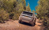 Land Rover Discovery Sport 2019 first drive review - trail rear