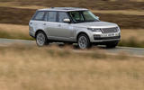 Land Rover Range Rover D300 2020 UK first drive review - on the road front
