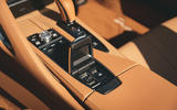 Lexus LC Convertible 2020 UK first drive review - roof controls