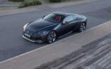 15 Lexus LC500 2021 UK FD static front