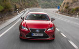 Lexus RC 300h 2019 first drive review - on the road front