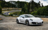 Litchfield Porsche 911 Carrera T 2018 first drive review - static front