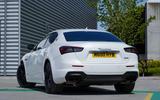 15 Maserati Ghibli Hybrid 2021 UK FD static rear end