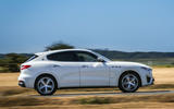 Maserati Levante Gransport 2018 UK first drive review on the road side