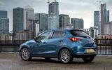 Mazda 2 Sport Nav 2020 UK first drive review - static rear