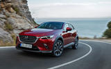 Mazda CX-3 2018 first drive review on the road front
