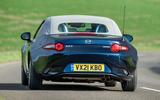 15 Mazda MX 5 Sport Venture 2021 UK FD on road rear