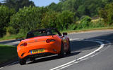 Mazda MX-5 30th Anniversary Edition 2019 UK first drive review - cornering rear