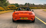 Mazda MX-5 30th Anniversary Edition 2019 UK first drive review - on the road rear end