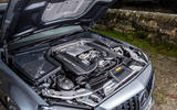 Mercedes-AMG C63 S Estate 2019 first drive review - engine