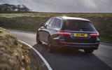15 Mercedes AMG E52 2021 UK first drive review cornering