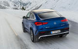 Mercedes-AMG GLE 53 2020 first drive review - on the road rear