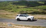 15 Mercedes AMG GLE 63S 2021 UK FD on road side