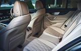 Mercedes-AMG GT 63 S 4-door Coupé 2019 UK first drive review - rear seats