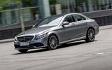 Mercedes-Benz C-Class C200 2018 review on the road side