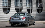 Mercedes-Benz C-Class C200 AMG Line 2018 UK review static rear