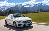 Mercedes-Benz CLA 2019 first drive review - on the road mountains