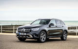 Mercedes-Benz GLC 220d 2019 UK first drive review - static front