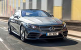 Mercedes-Benz S560 Coupe 2018 UK review on the road front