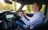 15 Mini Cooper S 2021 UK FD JD driving