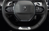 Peugeot 508 Hybrid4 2020 first drive review - steering wheel