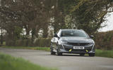 15 Peugeot 508 PSE 2021 UK first drive review on road front