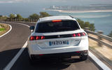 Peugeot 508 SW 2018 first drive review - on the road rear