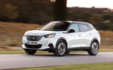 Peugeot e-2008 2020 first drive review - on the road front