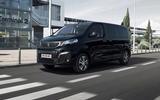 Peugeot e-Traveller 2020 - hero front