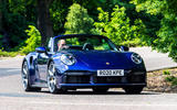 Porsche 911 Turbo S Cabriolet 2020 UK first drive review - on the road front