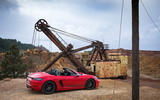 Porsche Boxster T 2019 first drive review - static