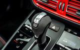 15 Porsche Macan GTS 2021 UK LHD first drive gearstick